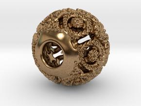 PA Charm V1f D15SE86L01 in Natural Brass
