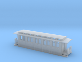 Feldbahn-Personenwagen Z 1:220 in Smooth Fine Detail Plastic