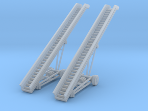 Gravel Conveyors Small N Scale in Smooth Fine Detail Plastic