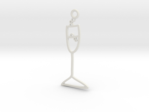Champagne Charm! in White Strong & Flexible