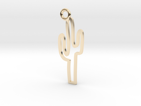 Cactus Charm! in 14K Yellow Gold