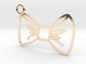 Bow Charm! in 14K Yellow Gold