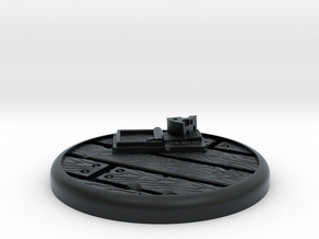 Mousetrap Base in Black Hi-Def Acrylate