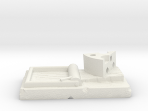 Mice & Mystics 3D Mousetrap in White Natural Versatile Plastic