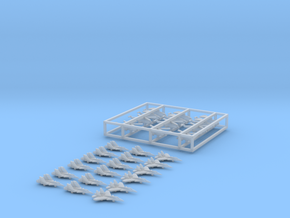 Chinese Carrier Wing Set, 30pc, 1/1250 in Smooth Fine Detail Plastic