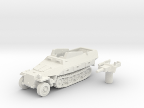 Sd.Kfz 251 vehicle (Germany) 1/144 in White Strong & Flexible