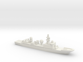 815G Electronic Surveillance Ship, 1/2400 in White Natural Versatile Plastic