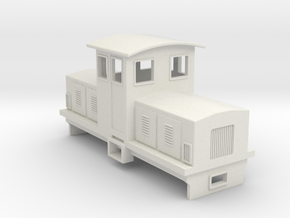 HOn30 Electric Centrecab Locomotive (Jennifer 2) in White Natural Versatile Plastic