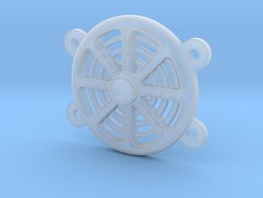 1/24 Scale Electric Fan in Smooth Fine Detail Plastic