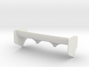 AILERON Mc Laren 12C  gros appui Aéro in White Strong & Flexible
