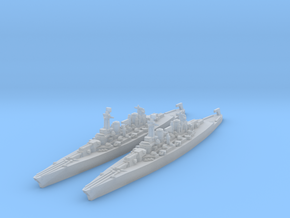 Lexington class battlecruiser (1940s) in Smooth Fine Detail Plastic