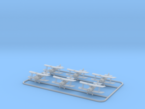 1/288 Airco D.H.5 (x6) in Smooth Fine Detail Plastic