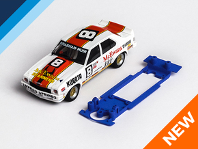 1/32 Scalextric Holden Torana Chassis Slot.it pod in Blue Strong & Flexible Polished