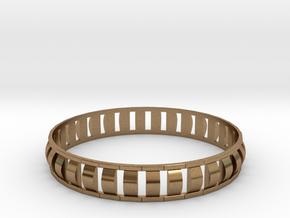 Special 1 Bracelet XL in Natural Brass