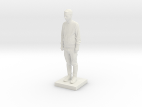 Printle C Homme 595 - 1/64 in White Natural Versatile Plastic
