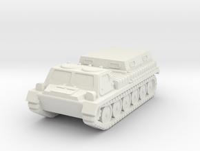 1/144 GT-SM tractor in White Natural Versatile Plastic