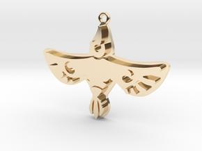 Zelda Divine Beasts Vah Medoh pendant botw in 14k Gold Plated Brass