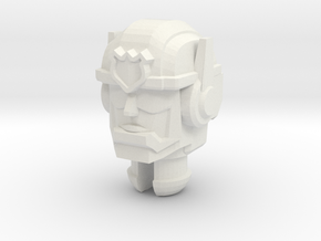 Rescue Bots Chase Head for Titans Return Bumblebee in White Natural Versatile Plastic