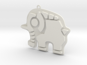 Divine Beasts Vah Ruta Pendant in White Strong & Flexible