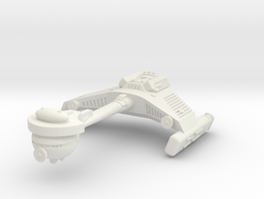 3125 Scale Klingon F5S Scout Frigate WEM in White Strong & Flexible