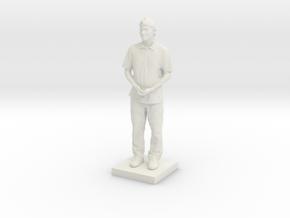 Printle C Homme 616 - 1/64 in White Natural Versatile Plastic