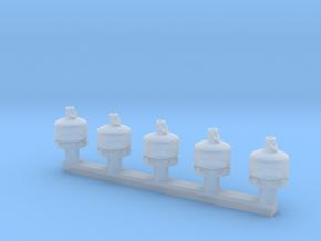 TJ-H02000x5 - Bouteilles de gaz 5-6kg in Smooth Fine Detail Plastic