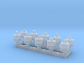 TJ-Z2000x10 - Bouteilles de gaz 5-6kg in Smoothest Fine Detail Plastic