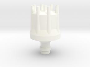 Distributor  1/8 in White Processed Versatile Plastic
