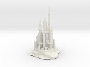 WHITE CASTLE in White Natural Versatile Plastic