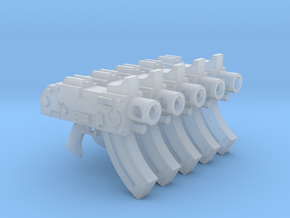 Ultra Marines Mk87 Thunderbolt Pistols #1 in Frosted Ultra Detail