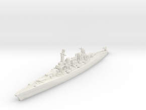 Lexington class battlecruiser (1940s) 1/2400 in White Natural Versatile Plastic