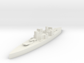 Royal navy HMS Prince Of Wales 1/3000 in White Natural Versatile Plastic