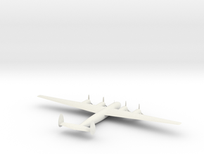 1:285 Me-264 in White Natural Versatile Plastic