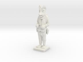 Printle C Homme 663 - 1/64 in White Natural Versatile Plastic