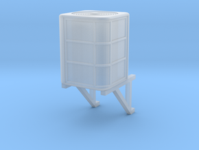 HO Scale Central Air Conditioner With Wall Bracket in Smooth Fine Detail Plastic