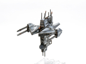 Vengeance-Class Frigate in Frosted Extreme Detail