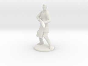 Jaffa Attack Pose - 20mm in White Natural Versatile Plastic