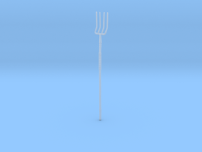 """BotW"" Farmer's Pitchfork in Smooth Fine Detail Plastic: 1:12"