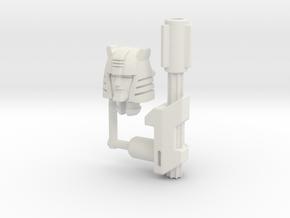 Titans Return Cliffjumper Upgrade Kit in White Strong & Flexible