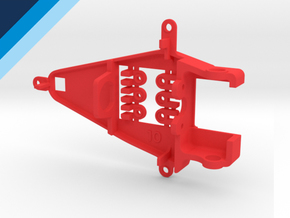 Small Can 1.0mm Offset IL - NSR compatible pod in Red Processed Versatile Plastic