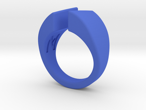 MizNK Ring NO.2 Inspired by Inspired by Relations in Blue Processed Versatile Plastic: 8 / 56.75