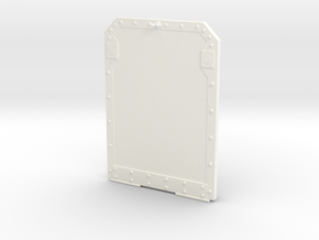 1.6 Marche Pied Big (B/2) MD900 in White Processed Versatile Plastic