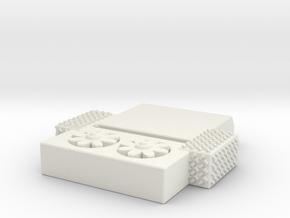 1/87 2009-2012 KME AC in White Natural Versatile Plastic