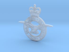 Royal air force logo in Smooth Fine Detail Plastic