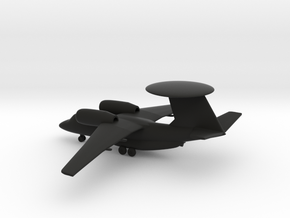 Antonov An-71 Madcap in Black Natural Versatile Plastic: 1:285 - 6mm