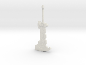 """BotW"" Stone Smasher in White Natural Versatile Plastic: 1:12"