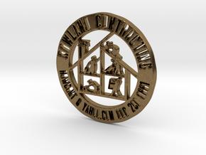 RCS Business Token in Natural Bronze