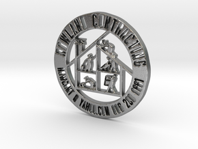 RCS Business Token in Natural Silver