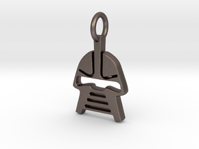 Cylon Charm in Stainless Steel