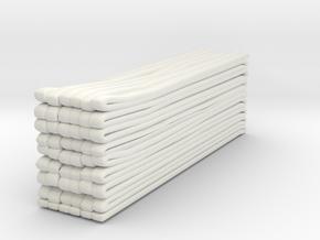 1/87 Hose Load 2 in White Natural Versatile Plastic